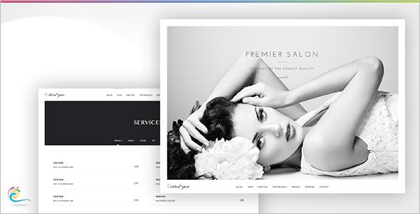 Elegant Full Screen Video Website Template