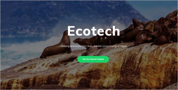 Elegant Technology WordPress Template