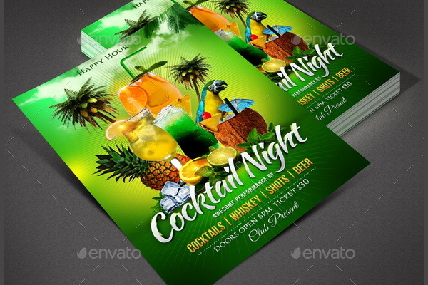 Entertainment Event Flyer PSD