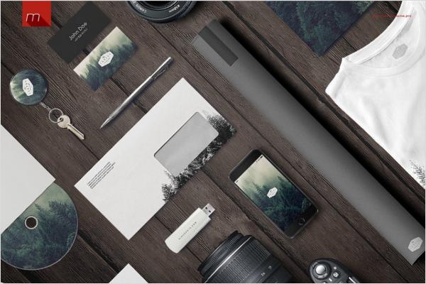 Envelope Cover Design Mock-Up