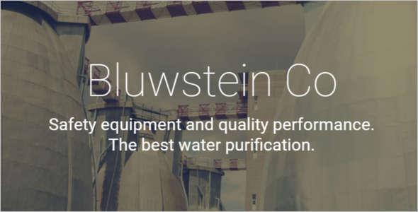 Environmental Business Website Template