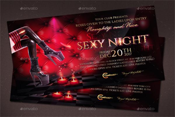 Erotic Disco Night Party
