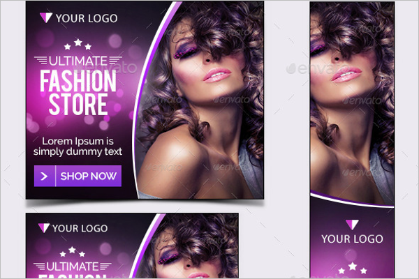 Fashion Banner Design Set