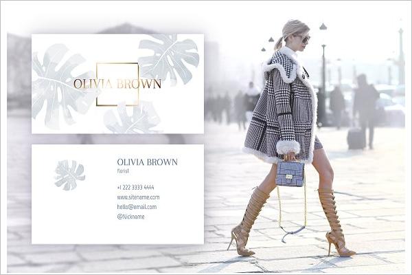 Fashion Identity Business Card