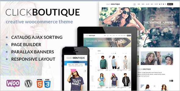 Fashion Shop WordPress Template