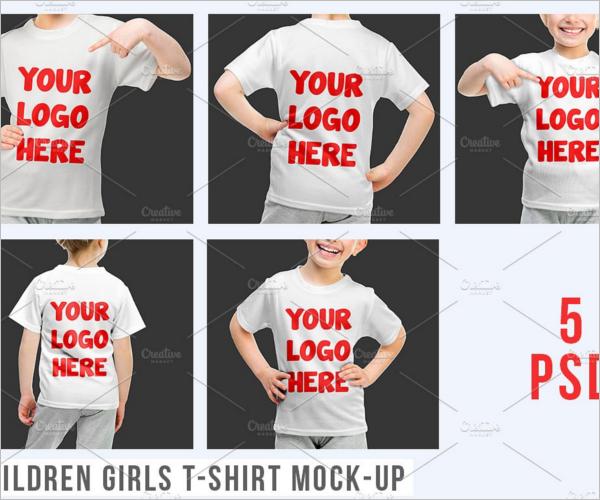 Fashion kids T Shirt Design