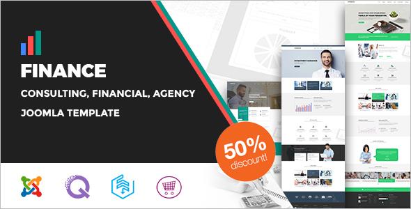 Finance Agency Joomla Template