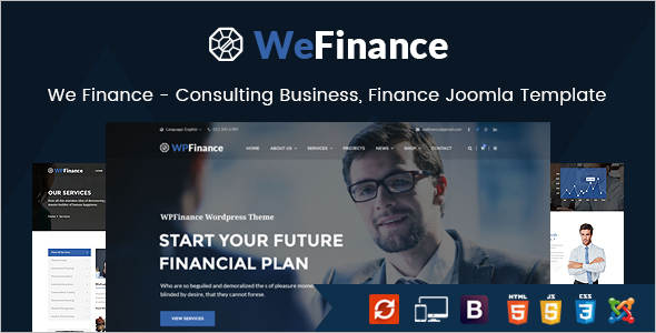 Finance Joomla Website Template