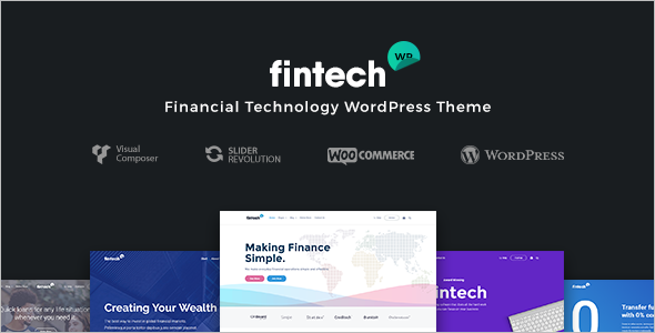 Financial Technology WordPress Theme