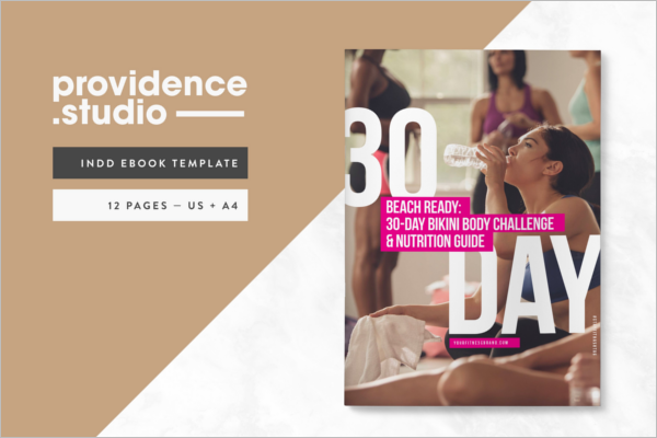 Fitness E-Book Design