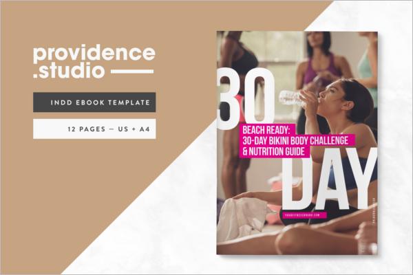 Fitness E-Book Design
