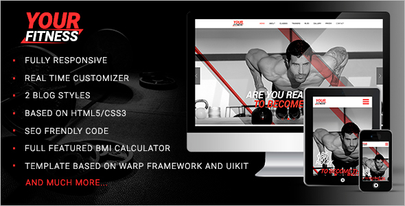 Fitness Full Screen Video Template