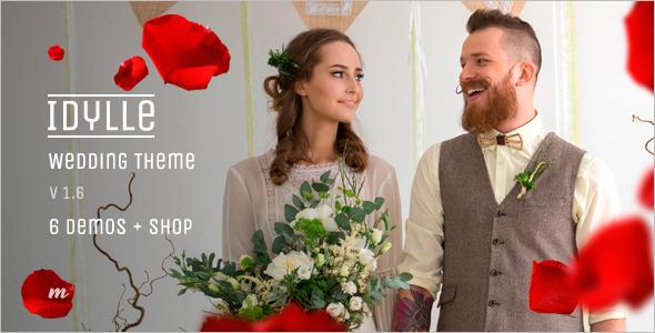 Flat-Wedding-WordPress-Template