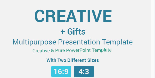 Flexible Creative Presentation Template