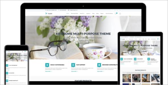 Flexible WordPress Template