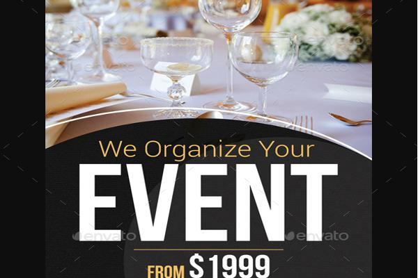 Food Management Organizer Event