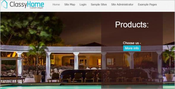 Free Classic Home Joomla 3 Template
