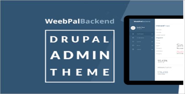 Free Drupal Admin Theme
