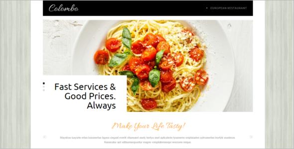 Free Joomla Food Design Theme