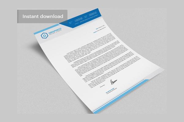 Free Letterhead Design Template