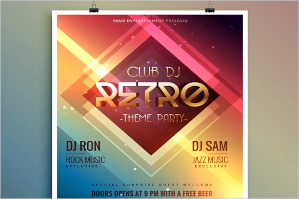 Free Nightclub Design Flyer
