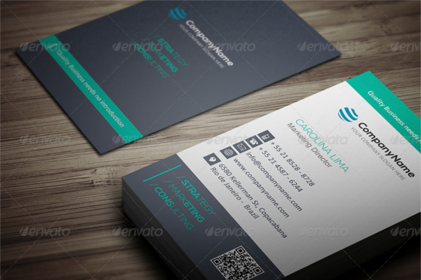 Freelancer Design Marketing Card