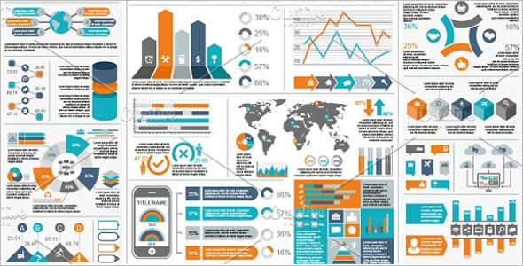Full-Length Infographic Element Template