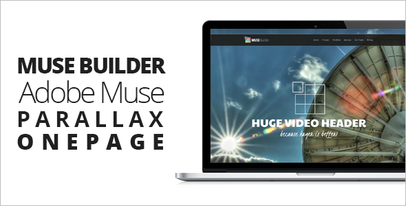 Full-Screen Portfolio Muse Template