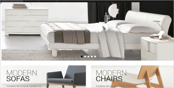 Furnishings OSCommerce Template