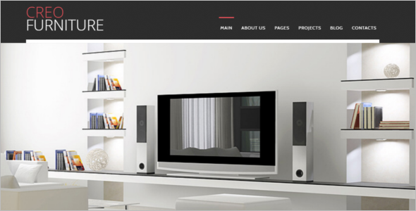 Furniture Design Joomla Template
