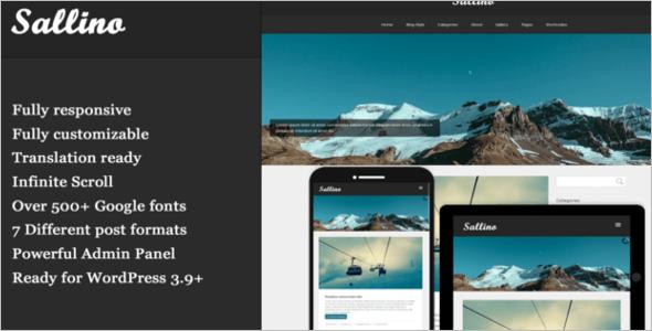 Gallery Blog Google Slider Template
