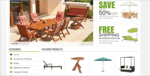 Garden Furniture OsCommerce Template
