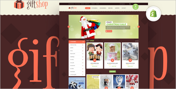 Gift Shop Shopify Theme