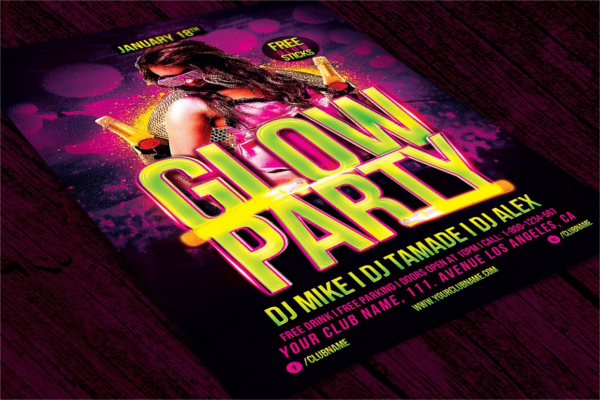 Girls Party Club Campaign