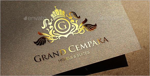Grand Crest Logo Template