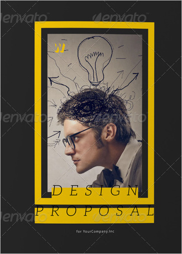 Graphic Design Project Proposal Template
