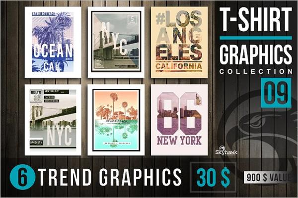 Graphics Tee Shirt photo Print Design