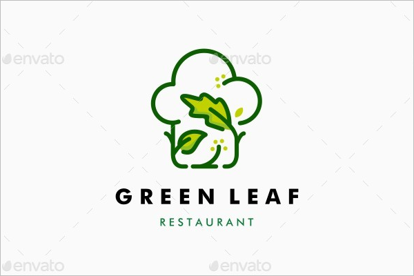 Green Leaf Restaurant Logo
