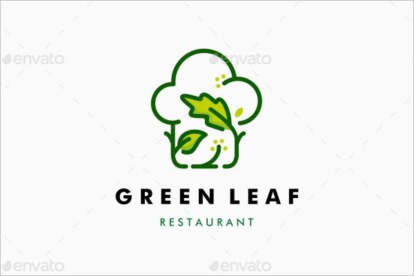 Green Leaf Restaurant Logo