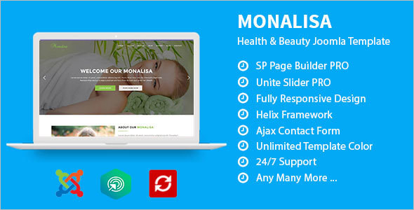 Health & Beauti Business Joomla Template