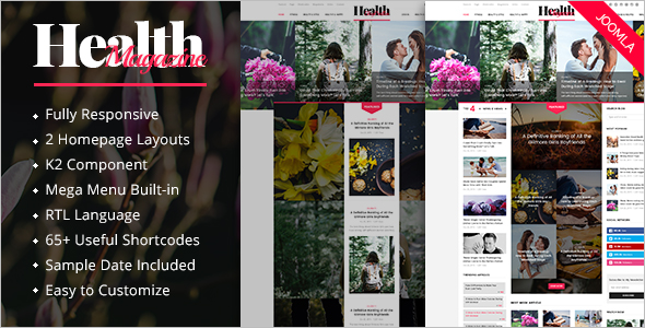 Health Slider Theme