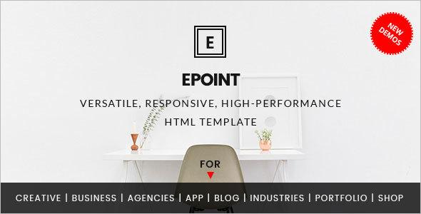 High Performance Website Template