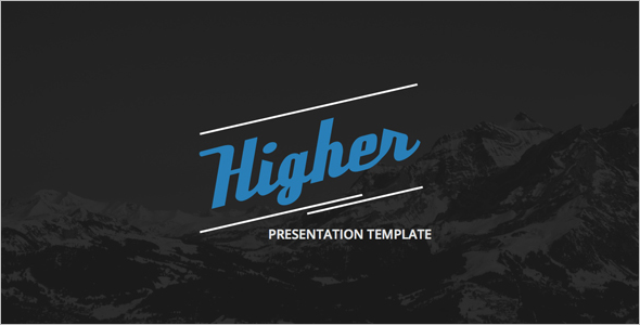Higher Creative PowerPoint Template
