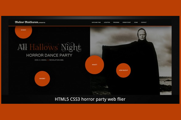 Horror Halloween Scary Party