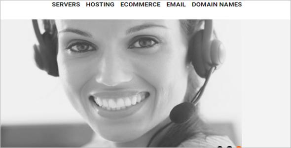 Hosting Store OsCommerce Template