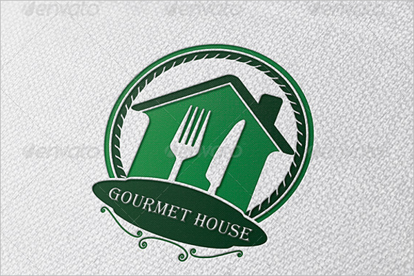 House Restaurant Logo