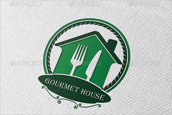 House Restaurant Logo