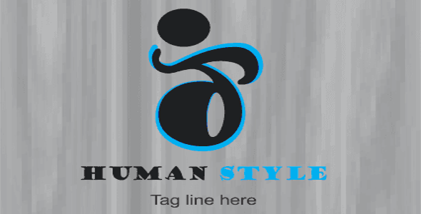 Human Sport Style Logo