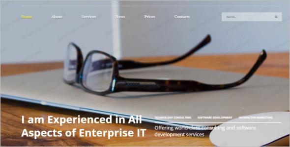 IT Guru Technology Website Template
