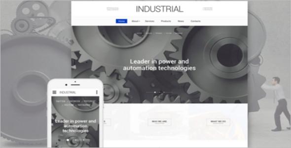 Industrial Technology Website Template